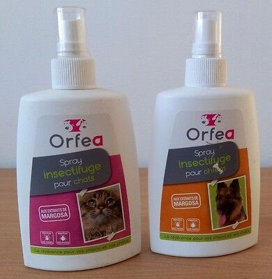 Orfea - Spray Insectifuge Pour Chiens Et Chats