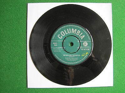 """MICHAEL HOLLIDAY - SHE WAS ONLY SEVENTEEN - 7"""" 45 rpm vinyl record"""