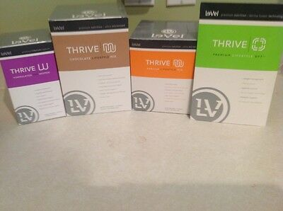 Le-Vel THRIVE - build your own Bundle (message me first) - Canadian Pricing