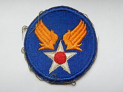 Ww2 U.s 'army Air Force' Usaaf Embroidered Cloth Insignia