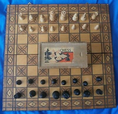 Chess Set-Purchased In The 1950S.