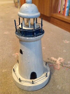 Unusual Money Box Lighthouse With Key Gift
