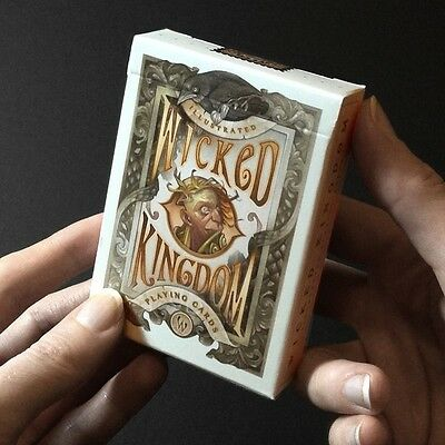 Wicked Kingdom Rare Limited Custom Playing Cards - High Art Collectors Deck !!!