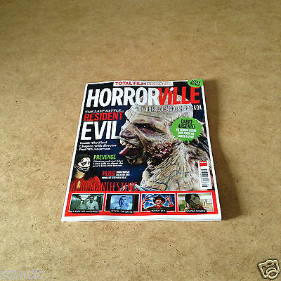 Total Film presents HORRORVILLE ISSUE 3 FEB 2017 ISAAC MARION INTERVIEW INSIDE