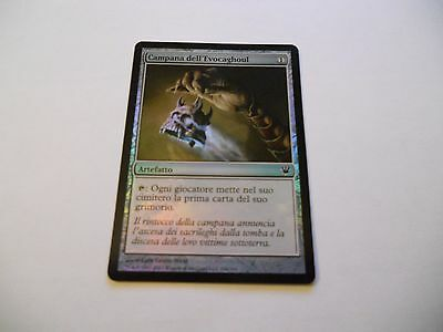 1x MTG FOIL Campana dell'Evocaghoul-Ghoulcaller's Bell Magic EDH ISD ITA x1