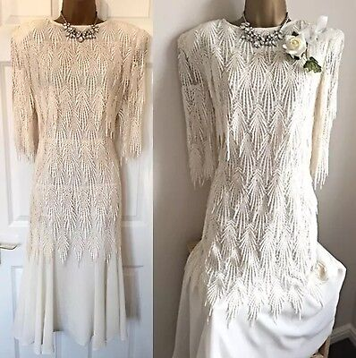 GINA BACCONI 12 Mother Of The Bride Dress Wedding Lace Cruise