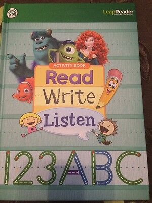 Leap Frog Tag Reading System Activity Book Read Write Listen