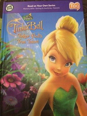 Leap Frog Tag Reading System TinkerBell Book