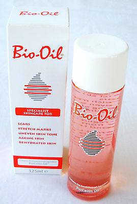 BIO-OIL SKIN SCAR STRETCH MARKS UNEVEN SKIN TONE 4 Oz PURCELLIN 125ml NEW