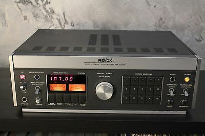REVOX B760 Digital Synthesizer FM Tuner - Vintage Hi-fi Radio