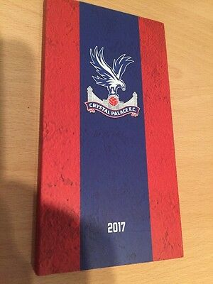 Crystal Palace Personal Diary 2017, Brand New Unused