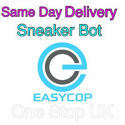 Easycop 2.62 Nike Adidas Yeezy  Jordans NMD sneakers Bot for PC only