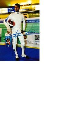 Olympic Champion 2008 in Fencing Ulrich Robeiri original signed 10x15 photo.