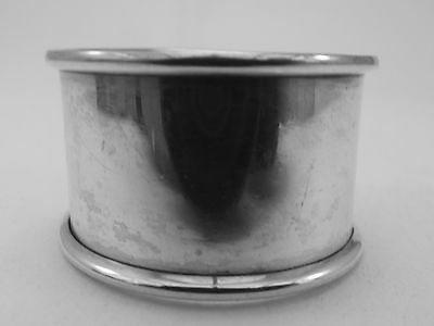 HM Silver Napkin Ring (312a) - Chester 1907 W.G.Keight - Not Engraved