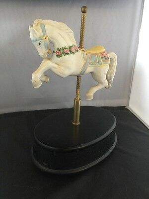 👀 Wow! Rare Find! 1987 Willitts Vintage Painted Carousel Horse –  Willitts