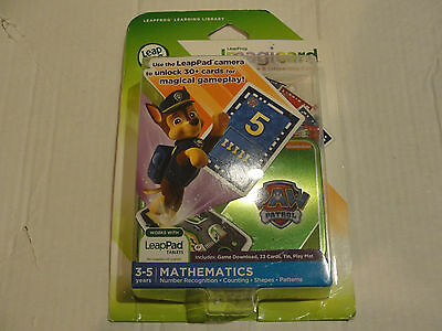 LeapFrog Paw Patrol Imagicard Learning Game for LeapPad Tablets New