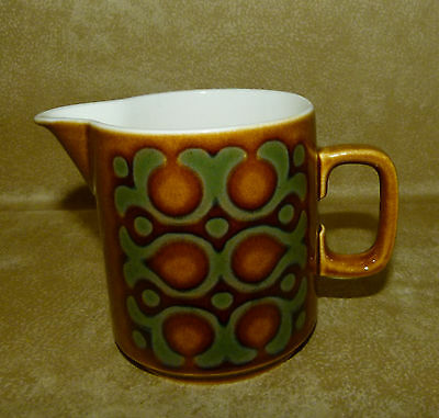 "Hornsea Milk Jug 3.1/2"" Tall : BRONTE : Nice Clean Condition. see listing"