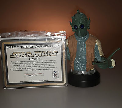 Star Wars Gentle Giant Greedo Limited Edition