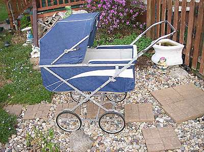 Vintage   Antique  1950's  Welsh Baby Buggy   Carriage for  LOCAL Pick up ONLY
