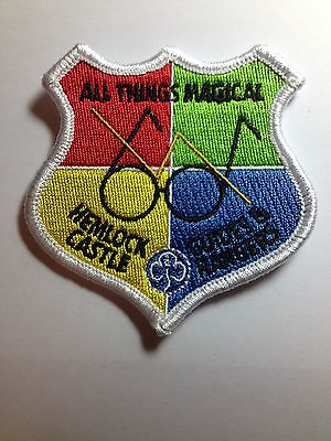 Girlguiding Challenge badge All Things magical Harry Potter cloth badge