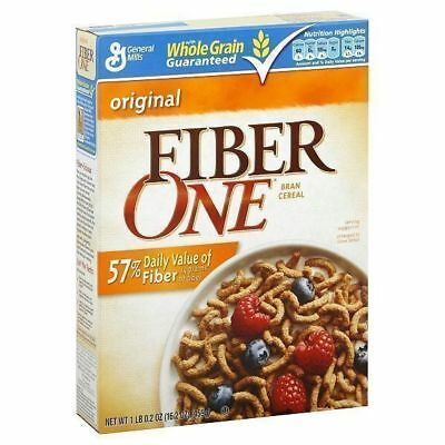Fiber One Cereal 459g (16.2oz) by General Mills American Breakfast Cereal