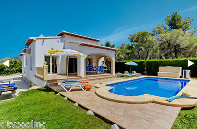 Villa Javea Costa Blanca Spain Sleeps Easter 6+Private Heated Pool 8/4/17