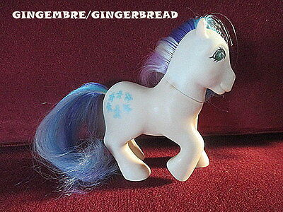 MLP mon petit poney my little pony G1 gingembre gingerbread 1985 HK