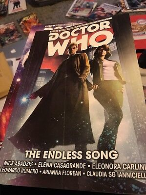 Doctor Who. The Endless Song. Graphic Novel New