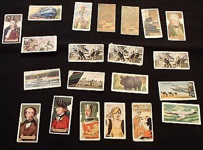 Eclectic mix of cigarette cards