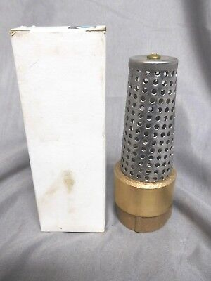 """CAMPBELL * (NEW in BOX)* 1"""" FOOT VALVE * Bronze & Stainless * PN# FV-4T  *(NEW)"""
