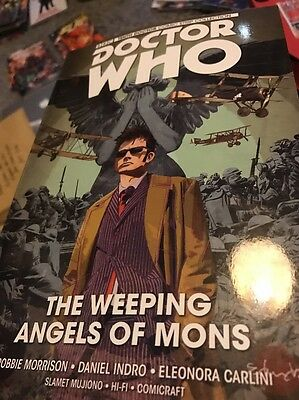 Doctor Who. The Weeping Angels Of Mons. Graphic Novel
