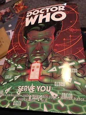 Doctor Who. Serve You. Graphic Novel New