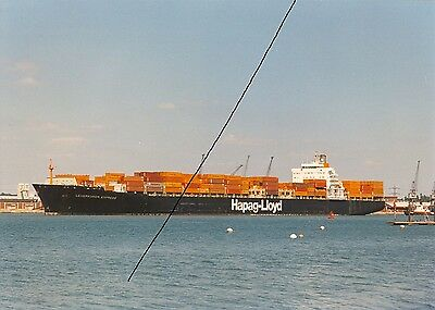 Ship/shipping Photo,hapag-Lloyd Container Vessel Picture Photograph,southampton