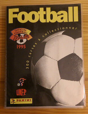 Album PANINI Official Football Cards 1995 - 289 cartes /300