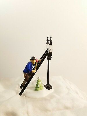 Department 56 LAMPLIGHTER ACCESSORY SET  Dickens Village  #55778 BOX AND TAGS