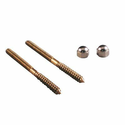 Danco 88942 1/4-Inch X 3-1/2-Inch Closet Screws