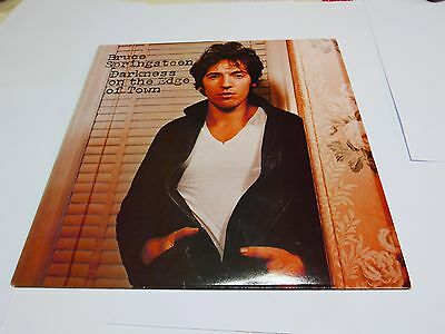 Bruce Springsteen - Darkness On The Edge Of Town - Lp First Uk Press 1978!