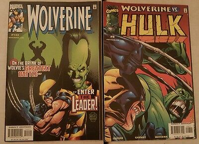Hulk (vol 2 ) 8 & Wolverine 144 set