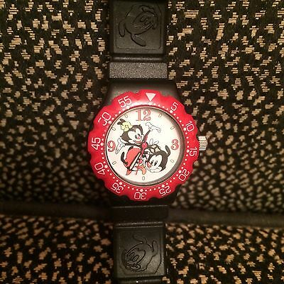 Vintage Animaniacs Watch 1994 - Black & Red  - The Warner Bros. Watch Collection