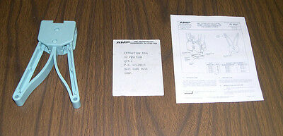 AMP extraction tool for 52 position PLLC socket. Mfg by AMP. NEW