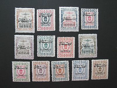 Mid East Collection of 13 Stamps, Sc # Q19-31, MH, 2012 Scv $52.50   F173