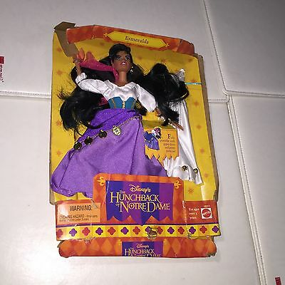 *RARE* The Hunchback of Notre Dame Emeralda Disney Exclusive Doll Purple Dress