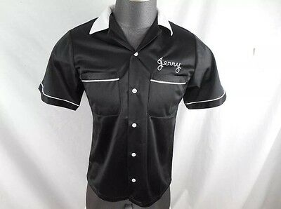 "Grace and Frankie Official Cast & Crew ""Jerry"" Bowling Shirt Small Netflixj"