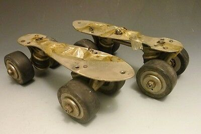 Vintage men's or women's DEXTER roller skates wheels & mechanism
