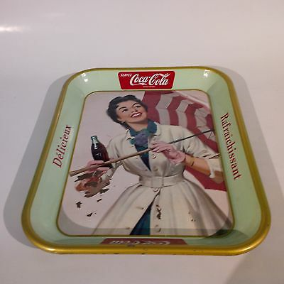 Vintage Coke Cola Serving Tray from 1950's