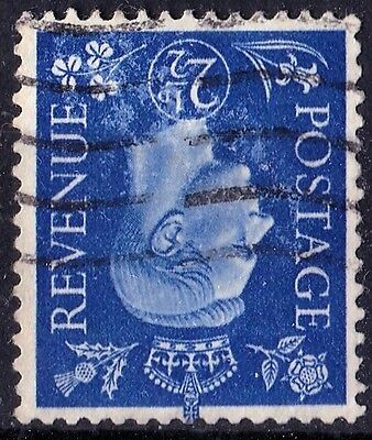SG466Wi 2½d Blue. INVERTED Watermark. Light Cancel. Very Fine Example. CAT £22+
