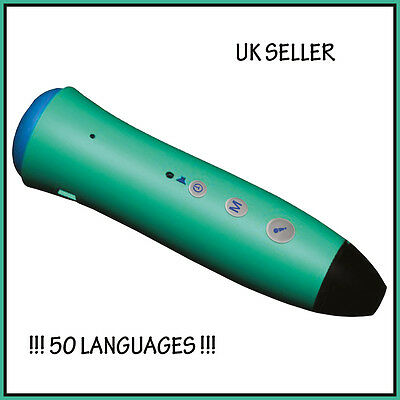 BRAND NEW ELECTRONIC PENPAL PEN 50 LANGUAGES Multilingual Touch and Read EAL Pen