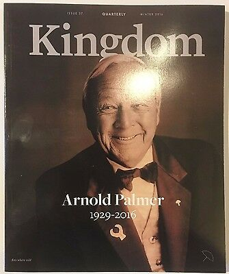 Arnold Palmer Kingdom Magazine 2016 Memorial Issue Arnie's Army Life Clean Copy