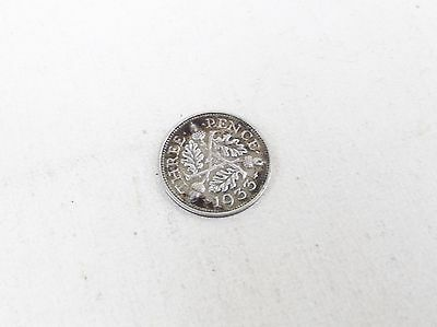 Antique 1933 Three Pence 3P Threepence Coin Maundy ? Coin Vintage