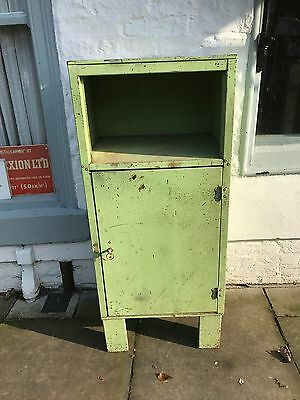Industrial Green Cupboard Tool Cabinet With Key